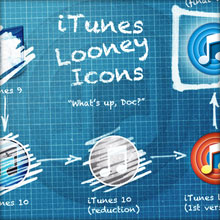 iTunes Looney Icons (Thumbnail)